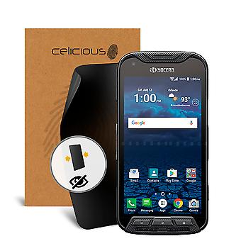 Celicious Privacy 2-Way Anti-Spy Filter Screen Protector Film Compatible with Kyocera DuraForce Pro