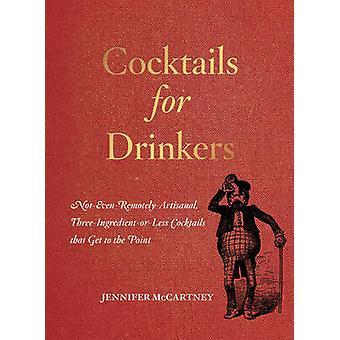 Cocktails für Trinker-nicht selbst-aus der Ferne-handwerklichen - drei-Ingredien