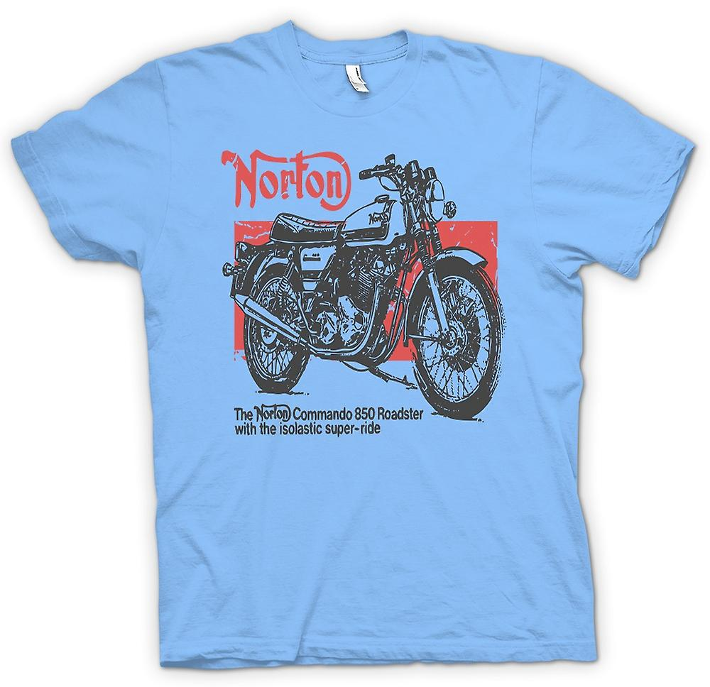 Mens T-shirt - Norton Commando 850 Roadster