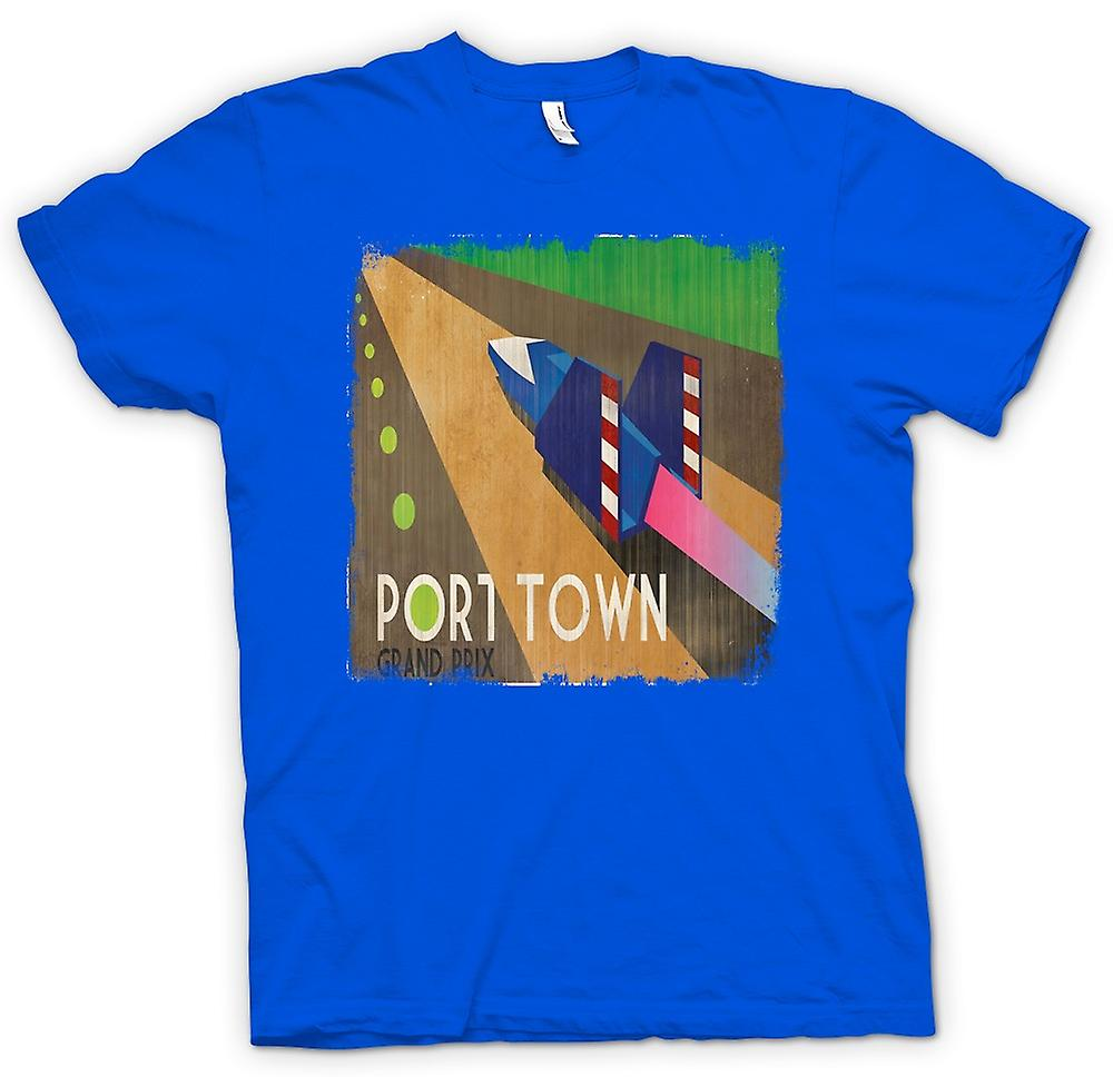 Mens T-shirt - F Zero Port Town - Grand Prix - Gamer
