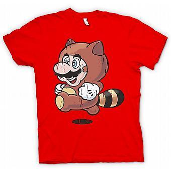 Kids t-skjorte - Raccoon Mario - Super Mario inspirert