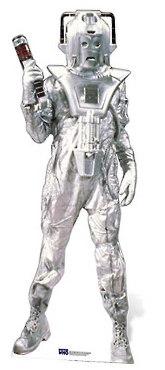 Klassische Cyberman Lifesize Pappausschnitt / Standee