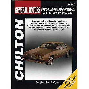 GM Buick/Olds/Pontiac 1975-90 Repair Manual (Total Car Care)