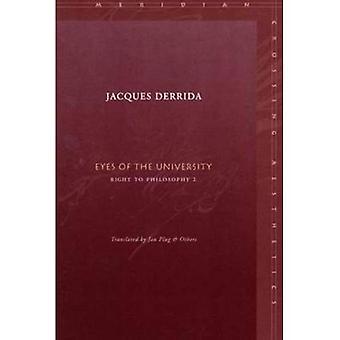 Ögonen på universitetet: rätt till filosofi 2 (Meridian passage estetik)