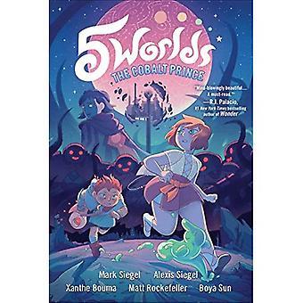 5 världar bok 2: kobolt prinsen (5 världar)