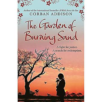 Le jardin de la combustion de sable