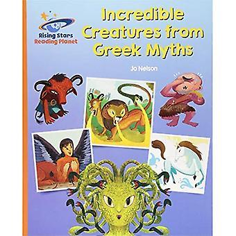 Lezen van planeet - ongelooflijke wezens uit de Griekse mythen - oranje: Galaxy (Rising Stars planeet lezen)