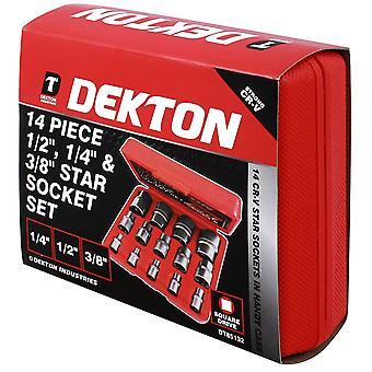 Dekton 14 Piece Strong CR-V 1/2