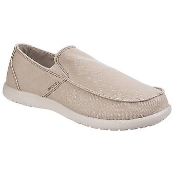 Crocs Mens Santa Cruz Clean Cut Loafers