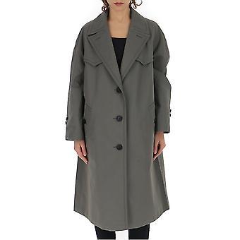 Prada Grey Cotton Coat