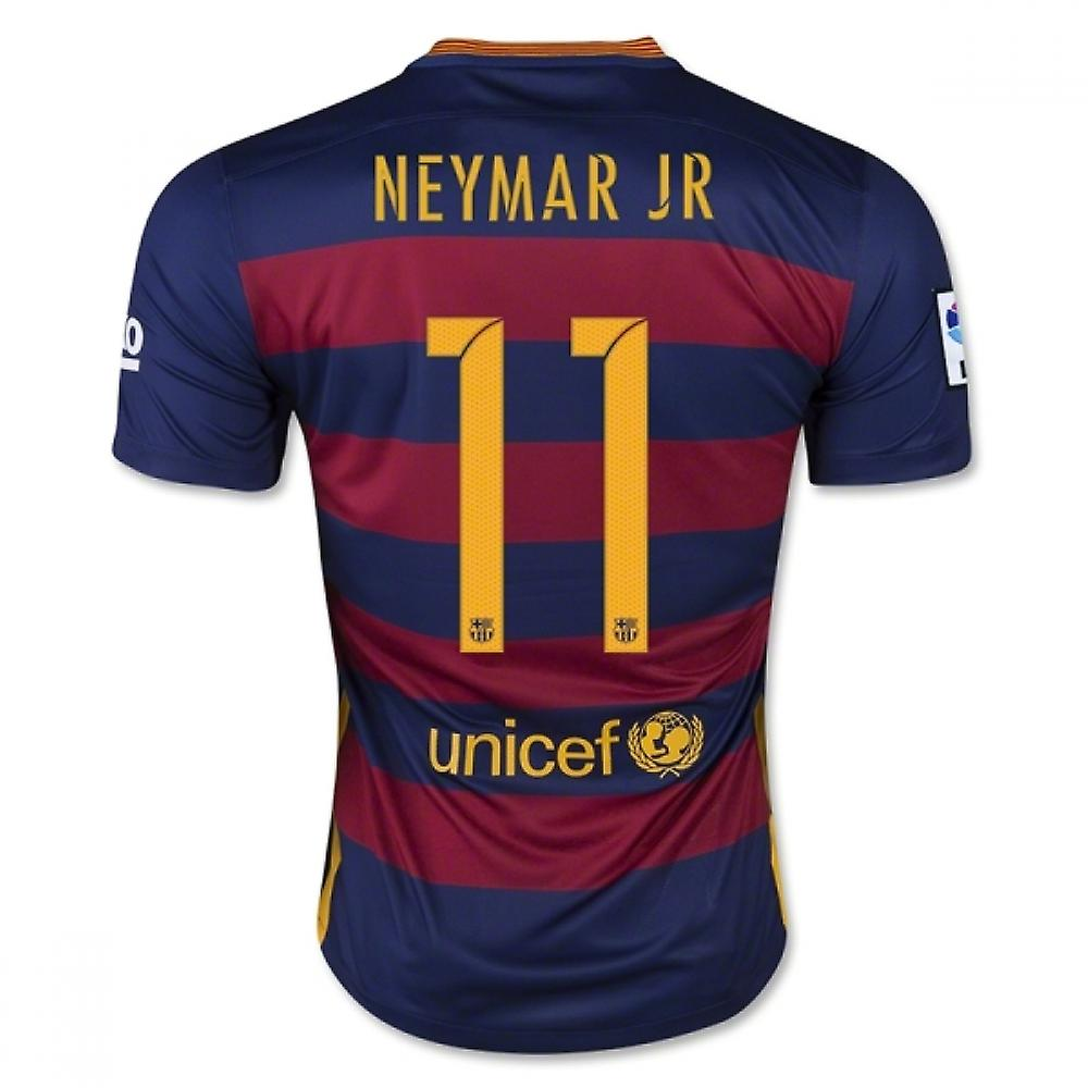 2015-16 Barcelona Home Shirt (Neymar JR 11) - Kids