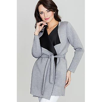 Lenitif ladies jacket grey