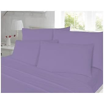 Coton brossé flanelle paire oreiller affaire chaud et doux en couleurs