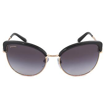Bvlgari Cat Eye Sunglasses BV6082 376/8G 58