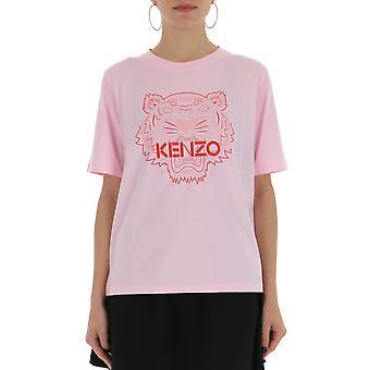 Kenzo roze katoenen T-shirt