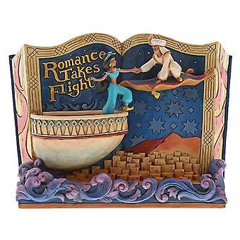 Las tradiciones de Disney Aladdin ' Romance toma el vuelo ' figurita de cuentos