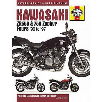Kawasaki ZR550 & 750 Zephyr Fours (90-97) by Anon - Editors of Haynes