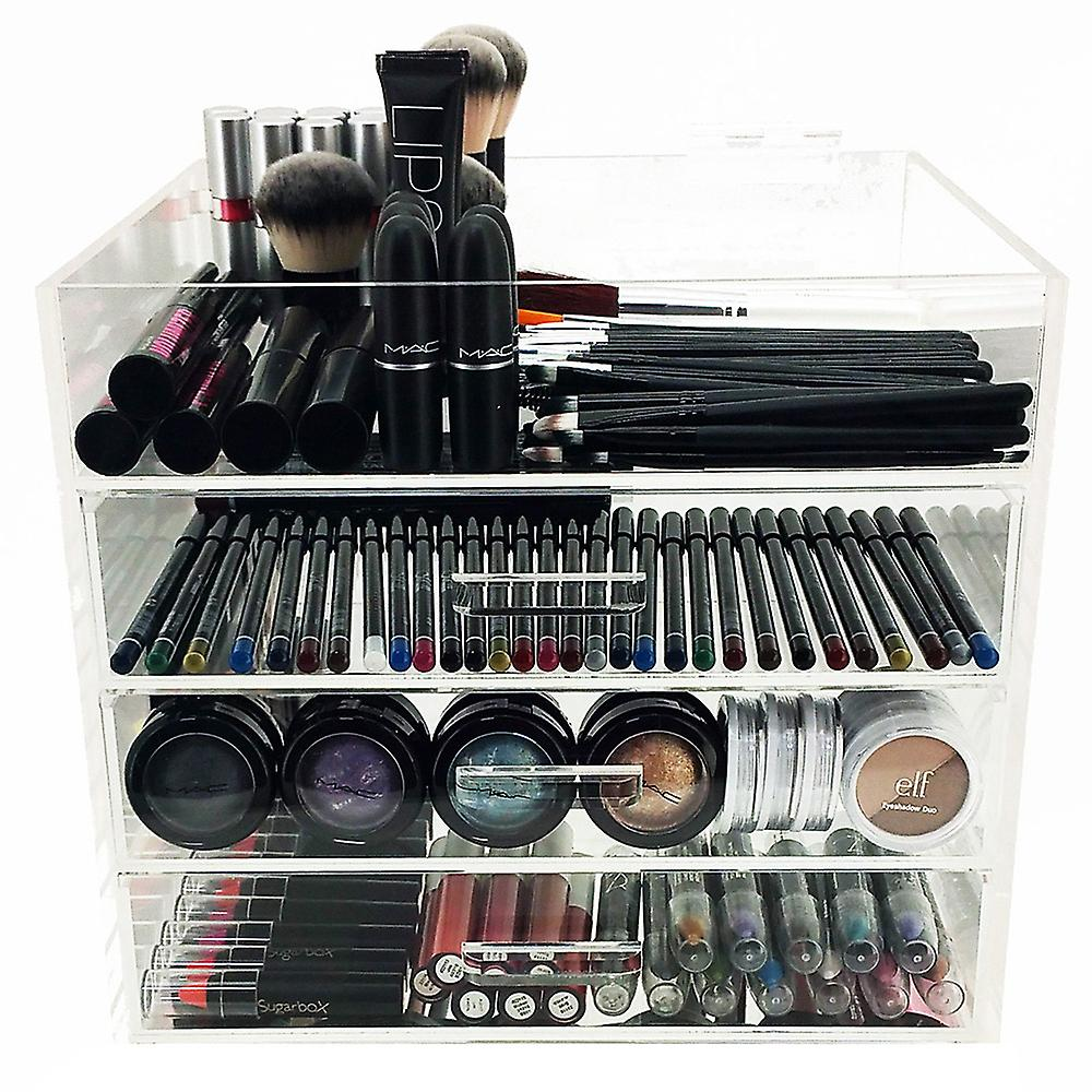 Couche 4 Cosmétique Ondisplay Acrylique Organisateur maquillage Y6yb7fg