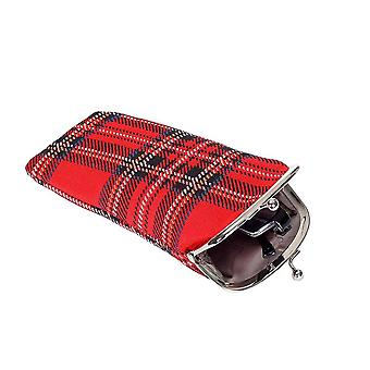 Royal stewart tartan glasses pouch by signare tapestry / gpch-rstt