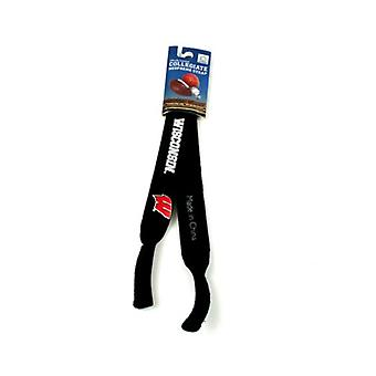 Wisconsin Badgers NCAA Black Neoprene Strap For Sunglasses/Eye Glasses