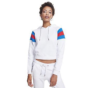 Urban Classics Women's Hoodie Sleeve Stripe