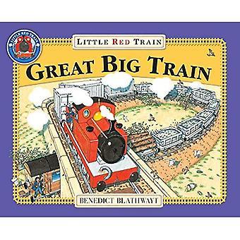 Stora lilla röda tåget
