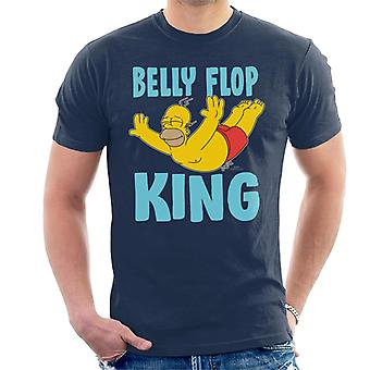 The Simpsons Belly Flop King Men's T-Shirt