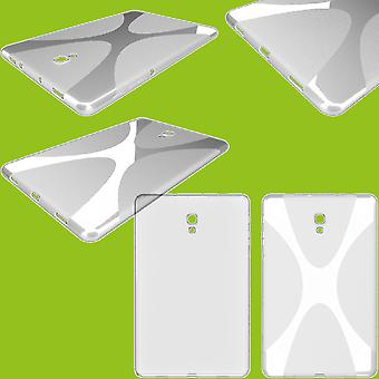 Boîtier transparent de la série X-Line de protection pour Samsung Galaxy Tab S5e 10.5 T720F