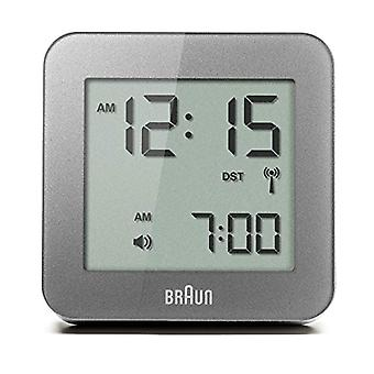Braun Clock Unisex ref. BNC009GY-RC