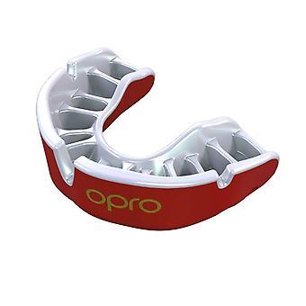 OPro Junior goud Gen 4 rood/Pearl Guard mond