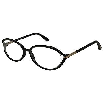 Tom Ford Womens brillen FT5212-001 ovaal zwart volledige RIM frames