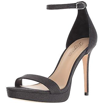 Imagine Vince Camuto Womens Preslyn Leather Peep Toe Ankle Strap Platform Pumps