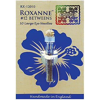Roxanne Betweens Hand Needles 50 Pkg Size 12 Rx120 12