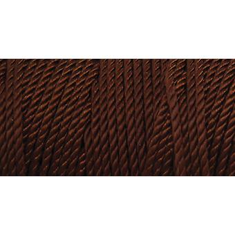Nylon Thread Size 2 275 Yards Chocolate Brown 2 464
