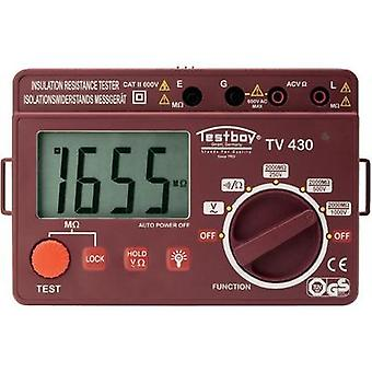 Testboy TV 430N Insulation measuring device,