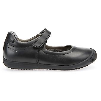 Geox Gilrs Gioia 2 Fit J643CA School Shoes Black