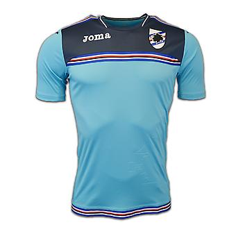 2016-2017 Sampdoria Joma Training Shirt (Turquoise)