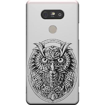 Owl portrait cover for LG G5