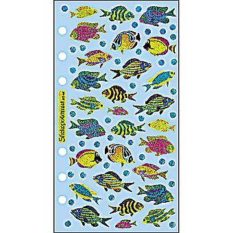 Sticko Stickers-Funky Fish SPMT44