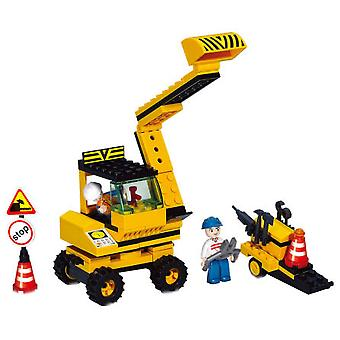Sluban Town Excavator With Accessories (Toys , Constructions , Vehicles)