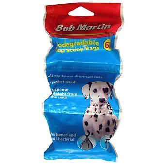 Bob Martin Biodegradable Poop Scoop Dispenser 3 X 20pk (Pack of 10)