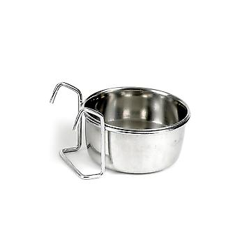 Classic Hook On Stainless Steel Coop Cup 150ml (75mm Dia)