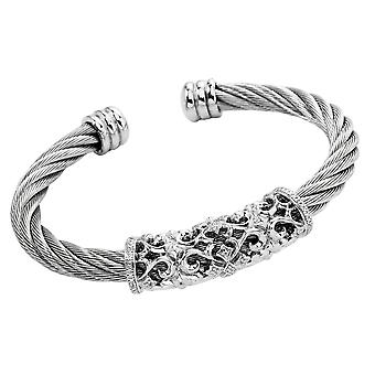 Burgmeister Bangle with Cubic Zirconia JBM3025-521