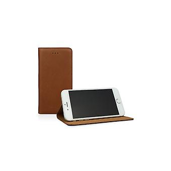 Caseual Läderslim For iPhone 6/6S Of Premium leather-MOCCA