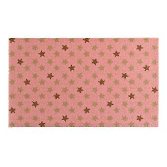 Doormat dirt trapping pad Star Mix Rosa Brown 50 x 70 cm