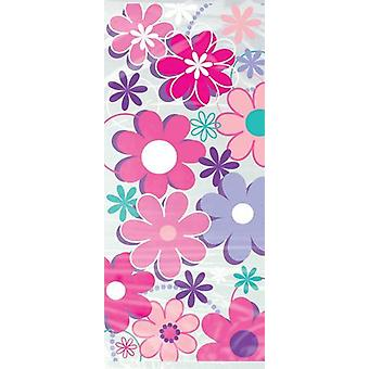 Party bags - Flower pattern - pack of 20