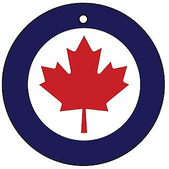 Royal Canadian Air Force Canada Roundel Car Air Freshener