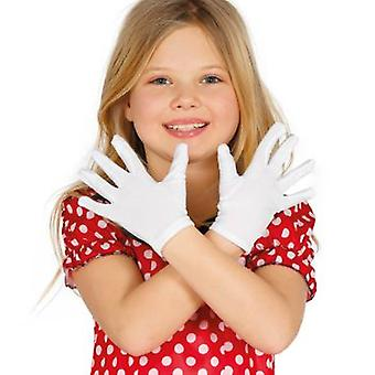 Guirca White Child Gloves (Costumes)