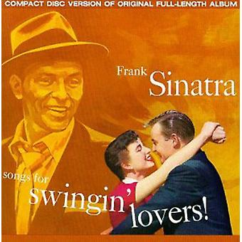 Frank Sinatra - Songs for Swingin' Lovers! [CD] USA import
