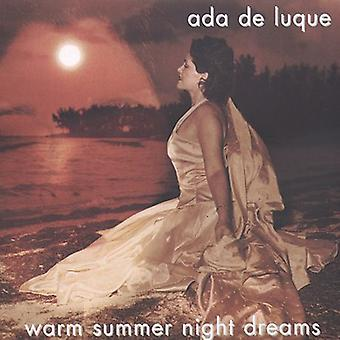 Ada De Luque - Warm Summer Night Dreams [CD] USA import